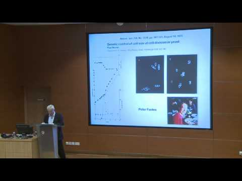 Public Lecture by Professor Sir Paul Nurse - Controlling the Cell Cycle