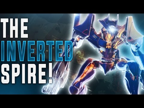 "DESTINY 2 NEW STRIKE ""THE INVERTED SPIRE!"" (""Sweet Business Exotic Auto Rifle Gameplay"")"