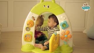 Gyerek házikó sátorral Discovery Cotoons Smoby han