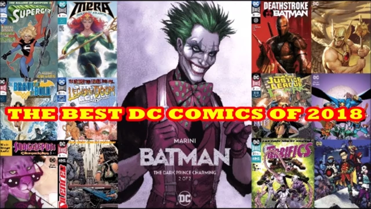 THE ABSOLUTE BEST DC COMIC BOOKS OF 2018