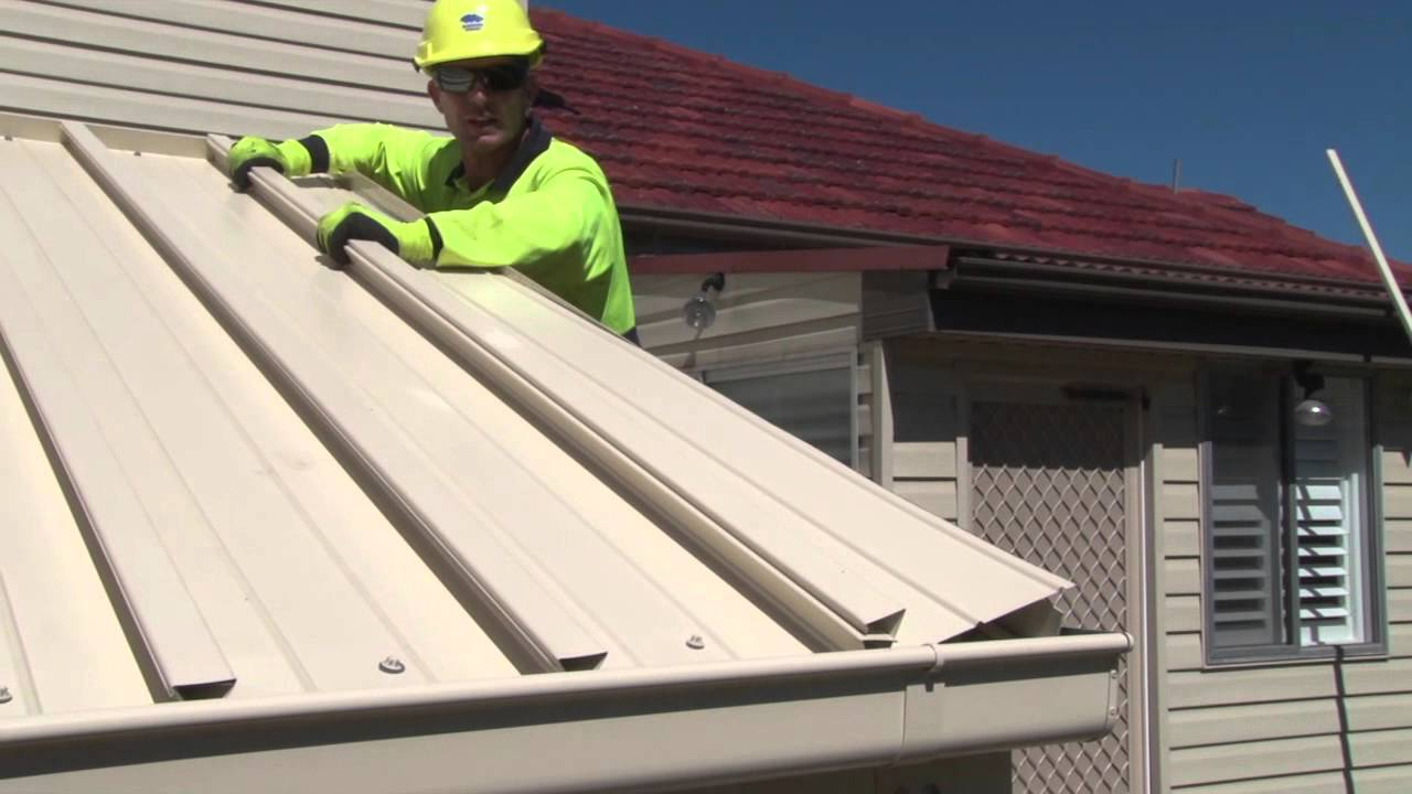 Using LYSAGHT FLATDEK roof sheeting for Patios and