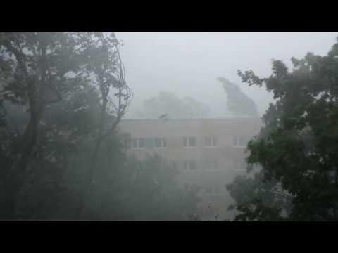 Unwetter in Berlin - Pankow  am 22  Juli 2017