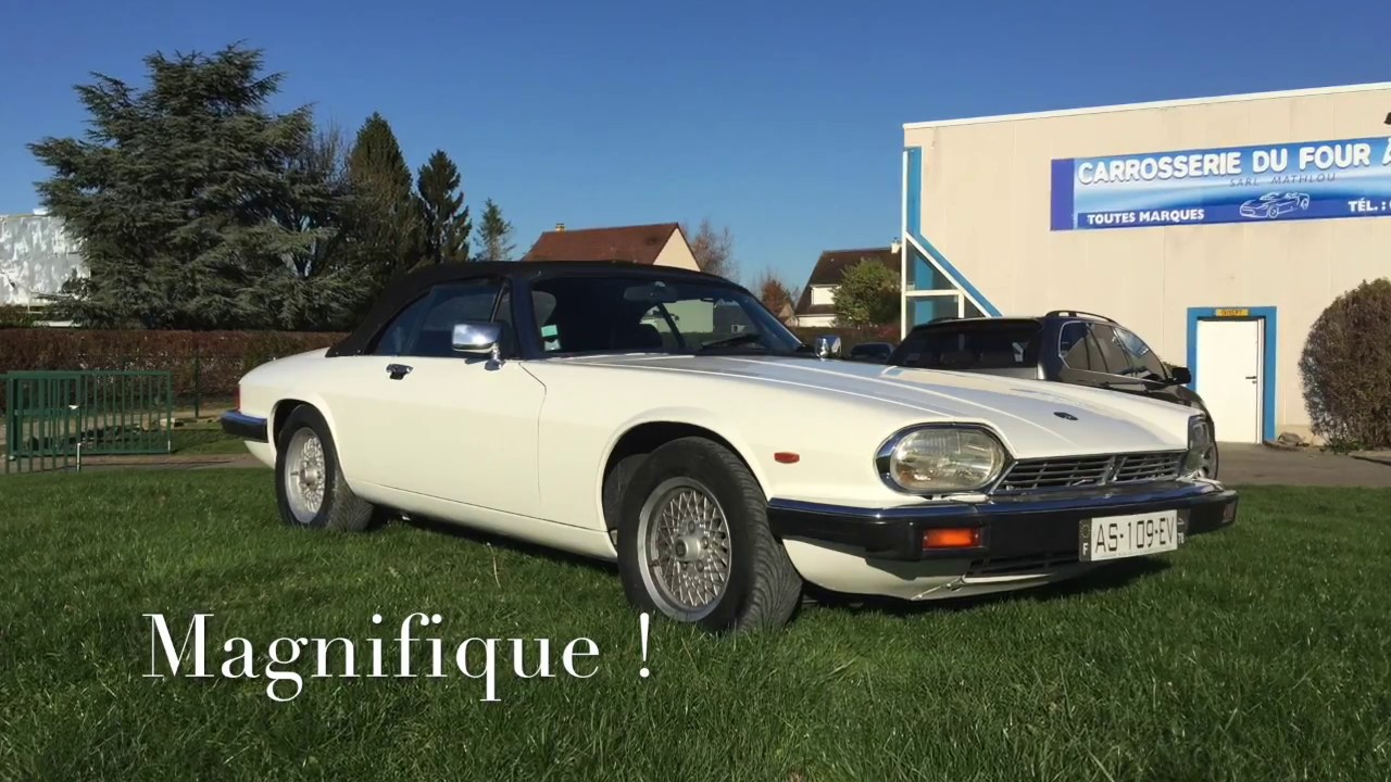 JAGUAR XJS V12 HE CAB 1985 RESTAURATION PEINTURE CARROSSERIE  YouTube