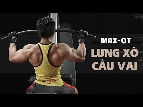 Lịch tập MaxOT 5 buổi 1 tuần XÔ LƯNG