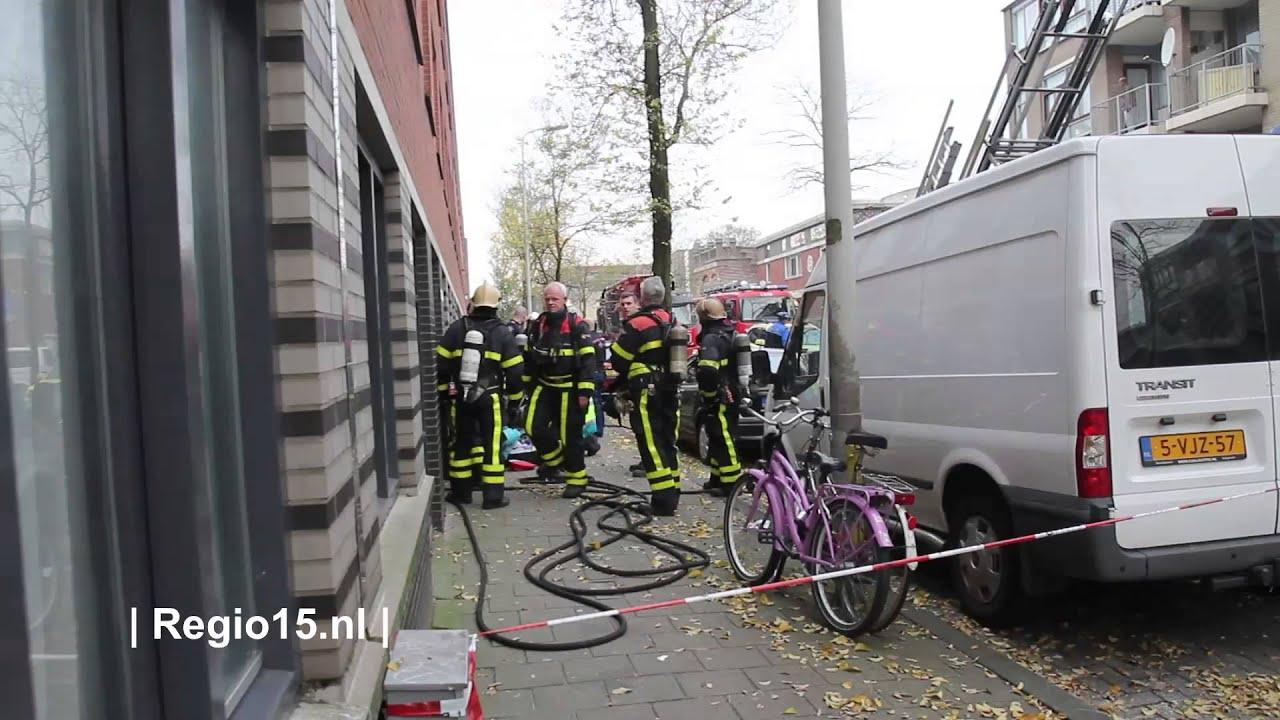Brandweer Redt Vrouw Uit Woning Aan De Van Ostadestraat In