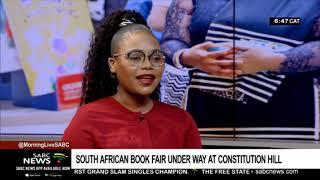 South African Book Fair under way in Joburg: Elitha van der Sandt