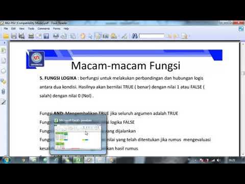 Macam-macam Fungsi Pada Ms. Excel Sampai Data Validasi (Lanjutan ...