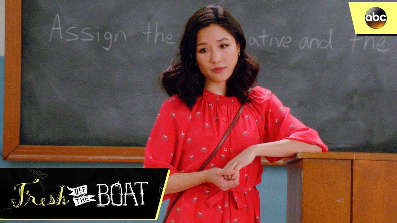 jessica the debate teacher fresh off the boat 3x21 youtube
