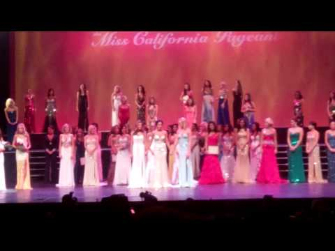 Crowning Miss California 2012, Leah Cecil...and my embarrassing reaction haha