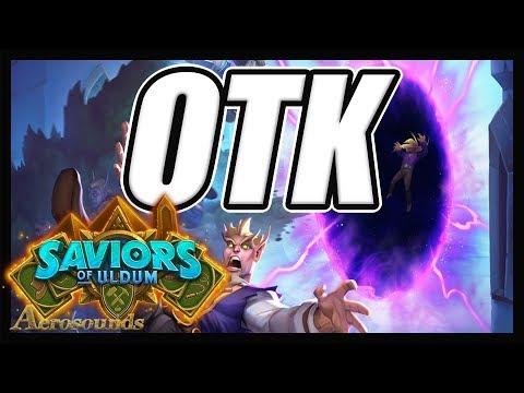 Plot Twist Warlock OTK! This Probably Shouldn't Be Allowed... - Saviors Of Uldum Hearthstone