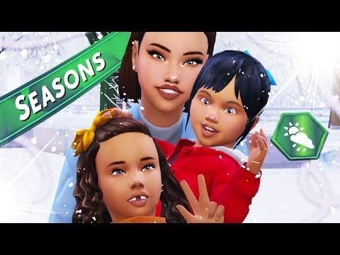 THE SIMS 4: SEASONS | Part 1 - Meet The Family ⛄ thumbnail