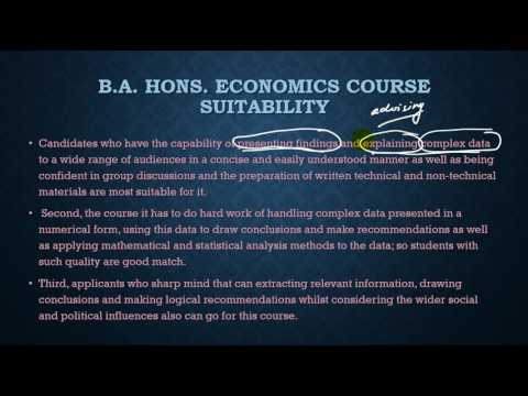 BA ECONOMICS / how to crack/books /information/study material/syllabus /tricks/analysis /solution