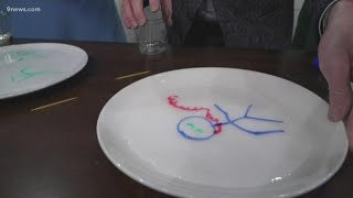 This fun science trick uses dry erase markers
