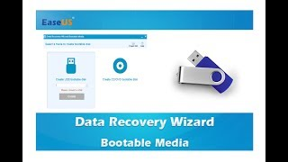 EaseUS Data Recovery Wizard création WinPE bootable disk