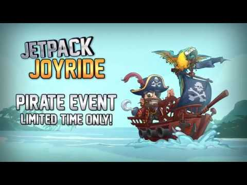 Jetpack Joyride - Pirate Update OUT NOW!