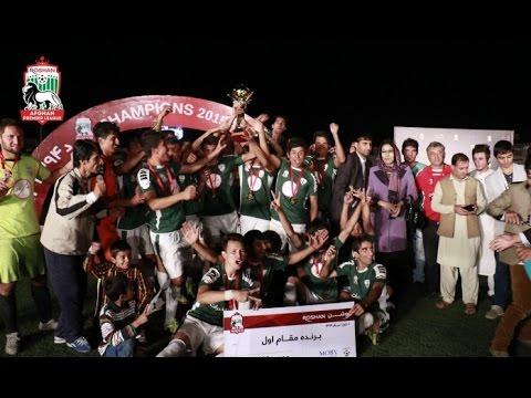 RAPL 2015: Shaheen Asmayee VS De Spinghar Bazan - Final Match   Afghanistan Sports News