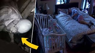 After This Dad Heard Strange Noises In The Attic, Cameras Caught A Neighbor Secretly Watching Them