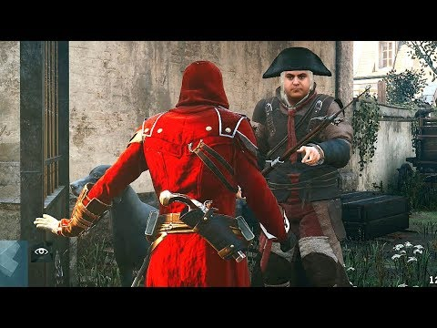 Assassin's Creed Unity Renovating Paris & Custom Outfit Exploration thumbnail
