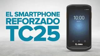 Zebra TC25 - Teléfono Inteligente Resistente