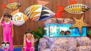 หนูยิ้มหนูแย้ม   ดูปลาสวยงามและหายาก EastVille Aquatica World