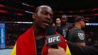 UFC 228: Abdul Razak Alhassan - Octagon Interview