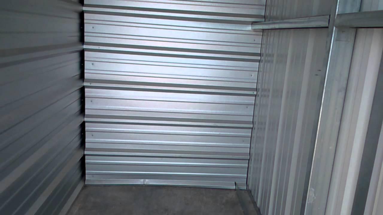 5 x 10 Outdoor Storage Unit Walkthrough & 5 x 10 Outdoor Storage Unit Walkthrough - YouTube
