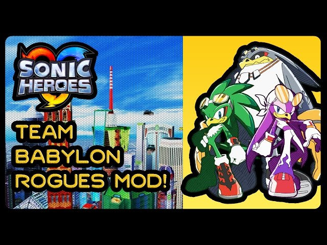 sonic heroes pc mods