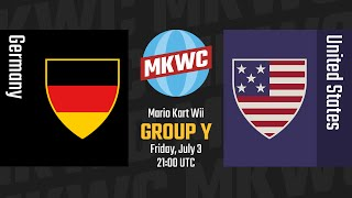 2015 Mario Kart World Cup - [MKWii] Germany vs. United States - Group Y, Day 4