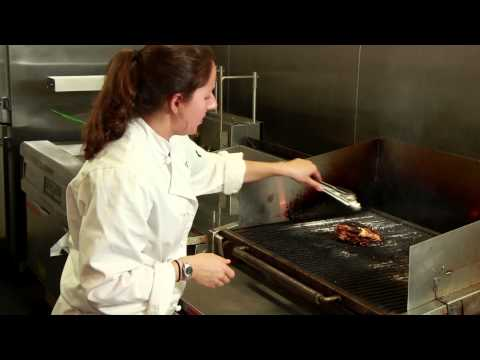 Grilled, Bone-In Chicken Breast Recipe : Summer Grilling