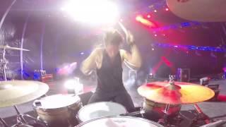 2CELLOS - Back in Black [Live at Arena di Verona] - DRUM CAM - Dusan Kranjc
