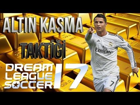 Altın Kasma Taktiği! - Dream League Soccer 2017 - 1 Küme! Bölüm 13 Android Türkçe 1080p