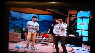 Melaney & Tyson feat Roy Ricardo on Show imah trans tv