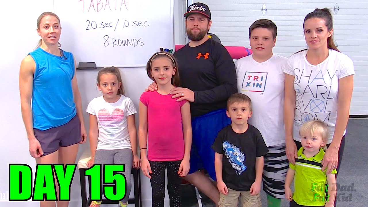 """""""Fat Dad, Fat Kid"""" Challenge   Day #5 - YouTube   Overweight Dad"""