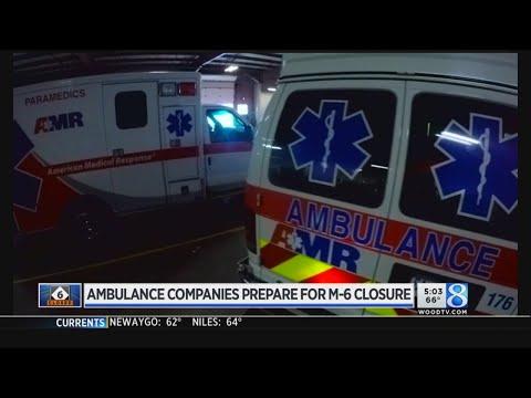 Hospitals, Ambulances Prepare For M-6 Closure