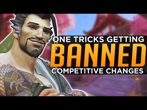 Overwatch: BANNED For One-Tricking! - New Competitive Changes!? thumbnail