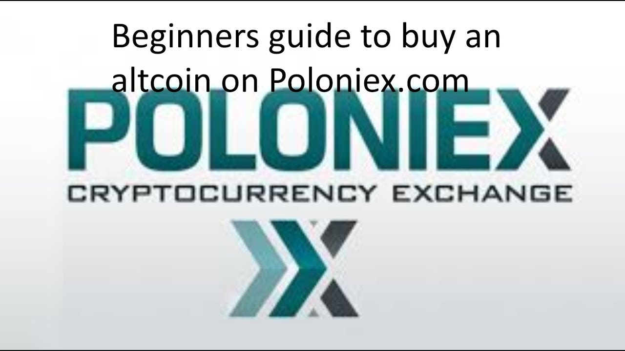 how to buy cryptocurrency in poloniex