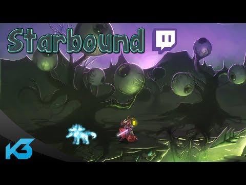 Dnes začíná stream Starbound!