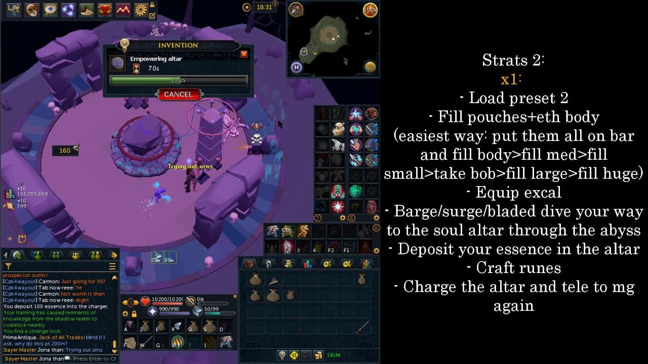 RuneScape | Soul Runecrafting v2 (w/ Urns)