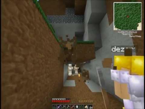 """Смотреть прохождение игры [Coop & Friends] Minecraft 1.3.1. Серия 16: """"Шахтерский комбаин""""."""