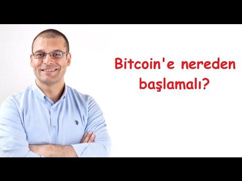 Bitcoin'e Nereden Başlamalı?