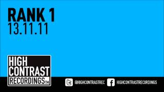 Rank 1 - 13.11.11 [High Contrast Recordings]