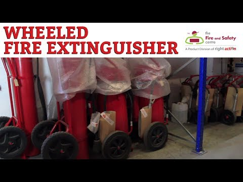 Applications of Wheeled Fire Extinguishers