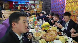 1. Свадьба Бейшенбек & Чолпон. 10.11.2017г. Часть 1 - с друзьями.