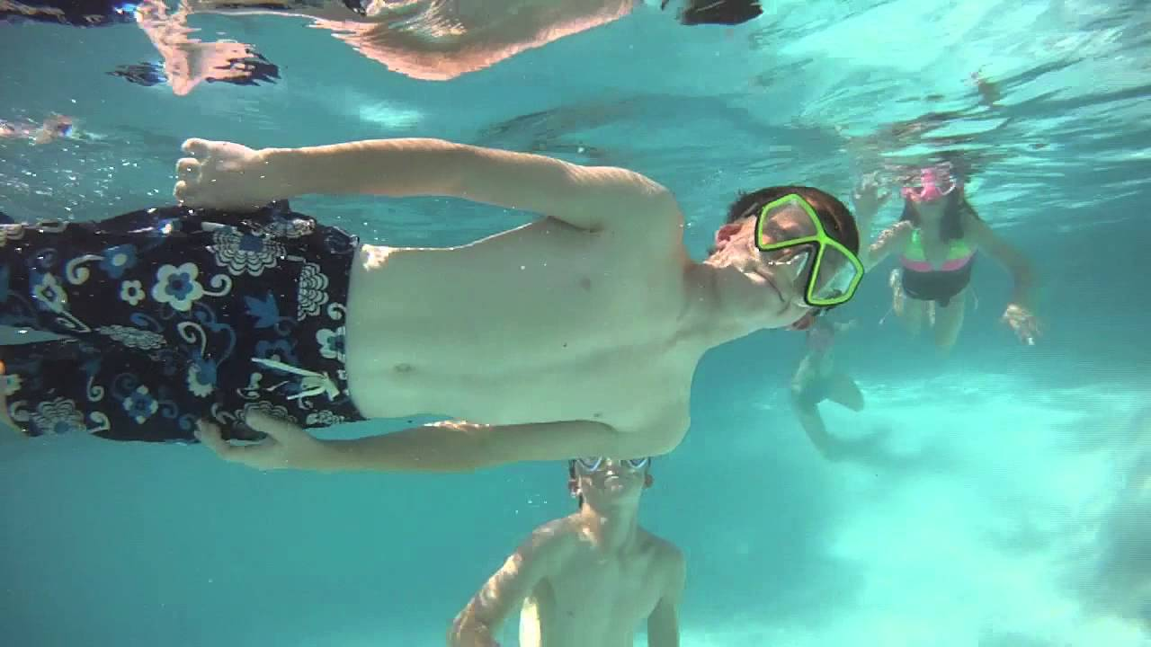 Kids Swimming Underwater kids swimming underwater - gopro filming - youtube