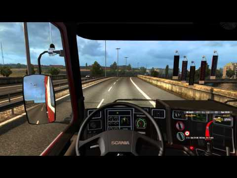 ETS2 V1.23 - MHA Pro Map V2.3.1 - Scania 143m - Chaumont to Michelau - 4K UHD