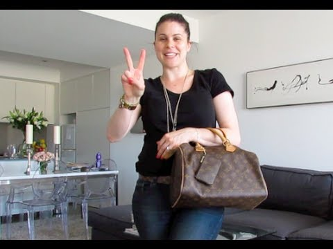 9b272846479f Louis Vuitton Speedy 30 TAG  How I pack what fits in my purse - YouTube