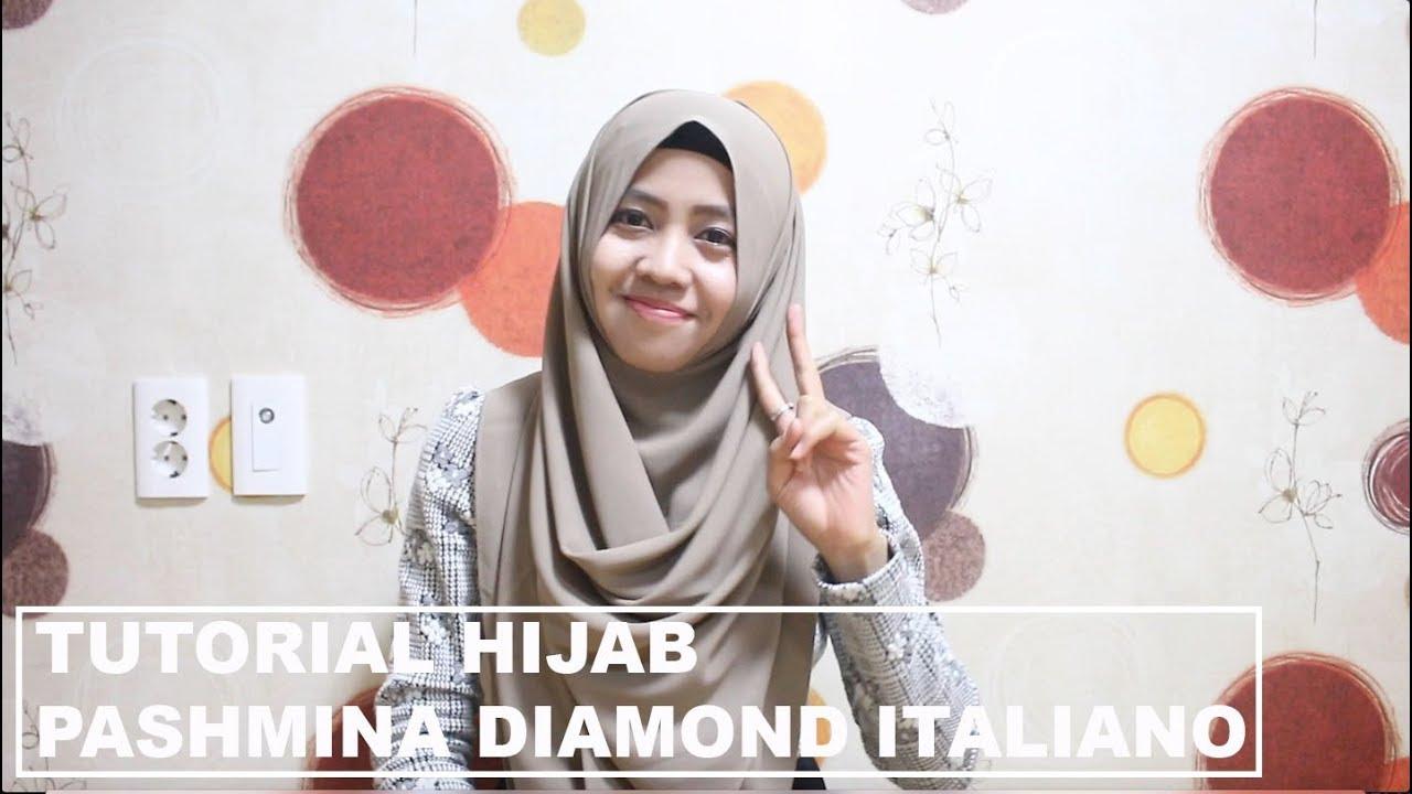 Tutorial Hijab Pashmina Diamond Italiano Youtube