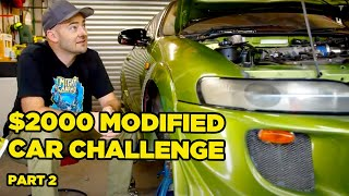 $2000 Modified Car Challenge - OUR CARS ARE FINISHED!