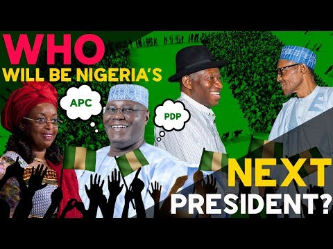 The next President of Nigeria. Who will win the 2019 elections?