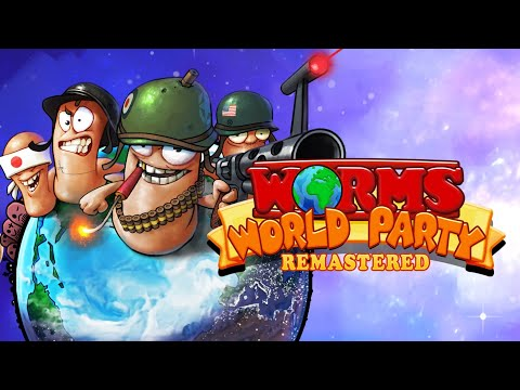 Worms World Party Remastered Gameplay #4 DC vs Mortal Kombat |